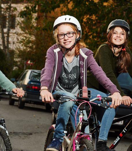 Les élèves qui se rendent à vélo à l'école récompensés avec de la monnaie virtuelle