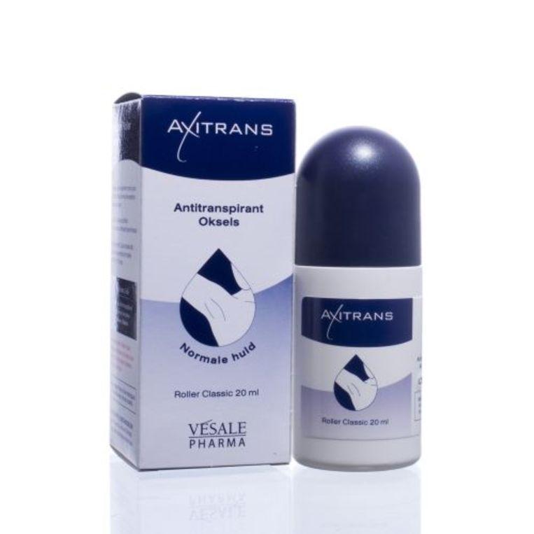 Axitrans, verkrijgbaar bij de apotheek. Beeld rv