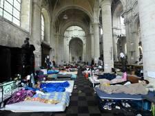 Les sans-papiers de l'église du Béguinage menacés d'expulsion
