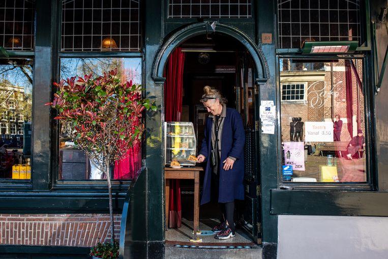 Café Hegeraad, Noordermarkt 34. Beeld Nosh Neneh