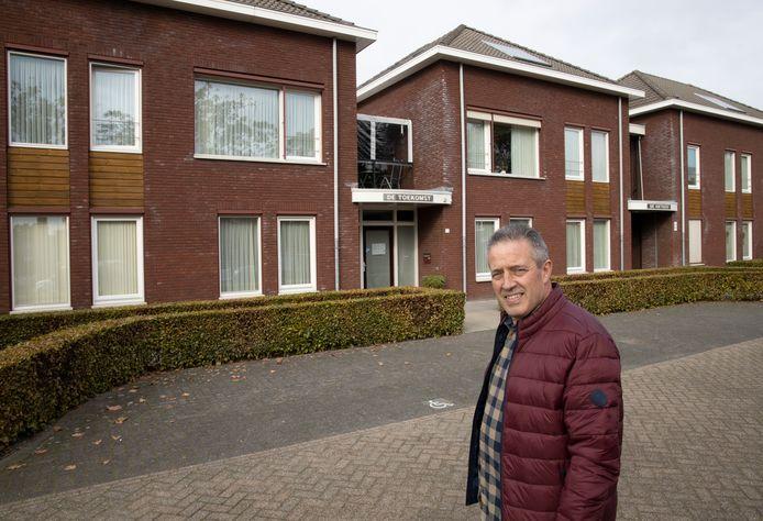 Jan Adams, voorzitter van stichting De Toekomst, maakt zich zorgen over de mogelijkheden voor dagbesteding van bewoners van woongroep De Toekomst in Reusel.