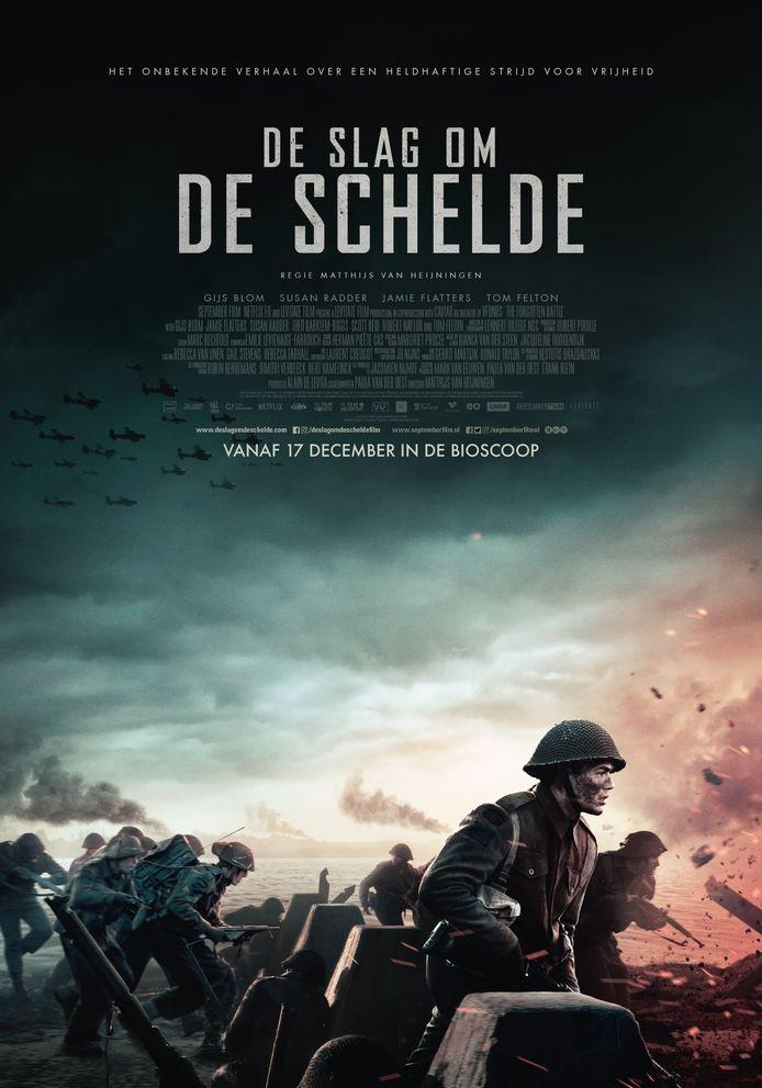 De slag om de Schelde Filmposter
