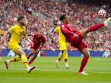 Van Dijk met Liverpool weer terug aan kop na ruime overwinning