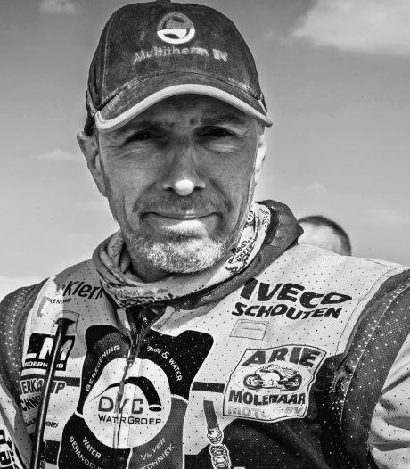 Motorcoureur Edwin Straver uit Rijswijk overleden, week na zware crash in Dakar Rally