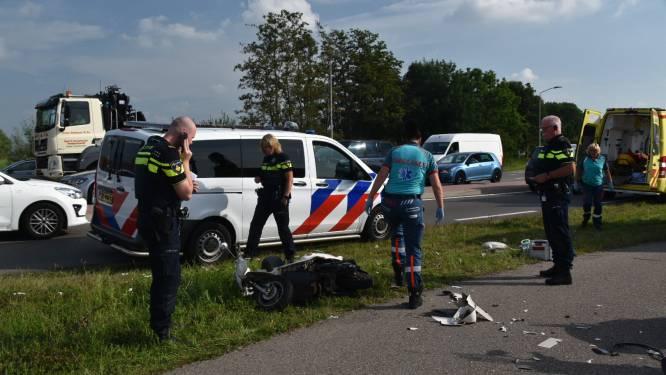 Drie gewonden bij scooterongeluk in Zaltbommel