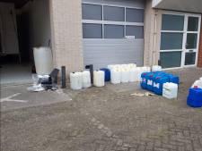 Drugslaboratorium opgerold in Middelharnis