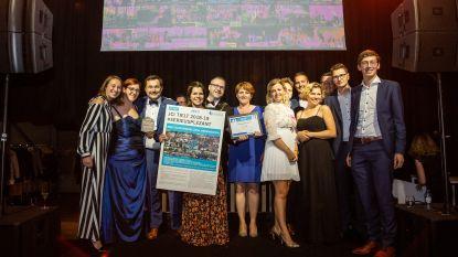 JCI Tielt viert 45ste verjaardag met award voor beste afdeling van België