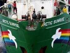 'Russen mochten Arctic Sunrise niet enteren'