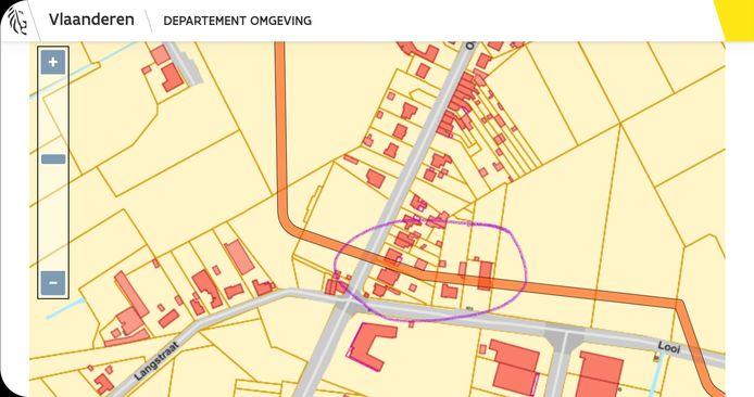 Het wijkschooltje in Rijkevorsel zou net als een drietal woningen bedreigd zijn als voor het noordelijke tracé wordt gekozen.