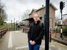 Station Delden staat er goed op bij de treinreizigers, maar bruisend is het niet