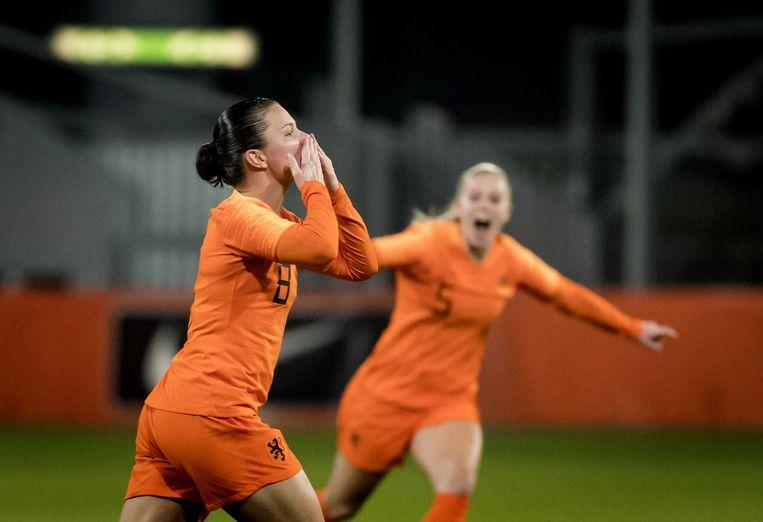 Na 3-0 overwinning op Zwitserland is WK-kwalificatie voor de Oranjevrouwen enkel nog een kwestie van tijd