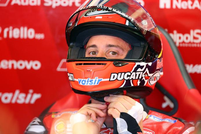 Andrea Dovizioso start zondag als zevende.