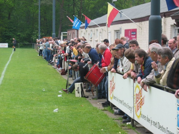 De Spionkop: trouwste supporters van RKSV Oisterwijk