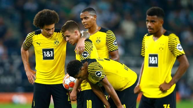 Geen feest zonder Haaland: Dortmund-Belgen verliezen van Mönchengladbach