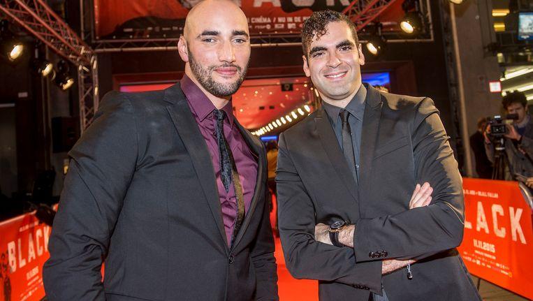 Billal Fallah en Adil el Arbi in november van vorig jaar. Beeld BELGA