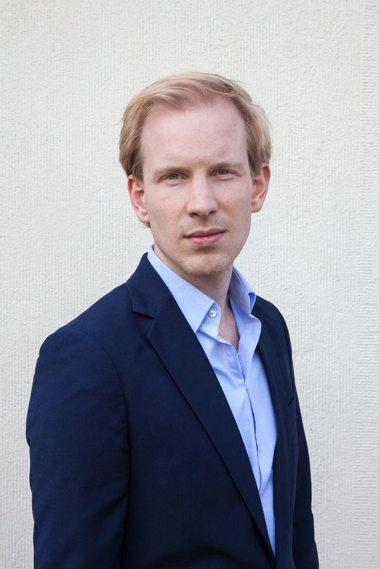 Rutger Bregman (30) is historicus en auteur bij 'De Correspondent'. Beeld rv