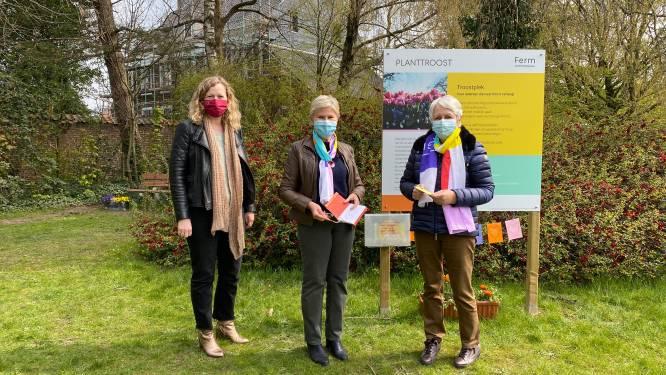Rustgevend hoekje in centrum van Drongen geeft bewoners een plek om verdriet te verwerken