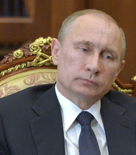 Où est Vladimir Poutine?