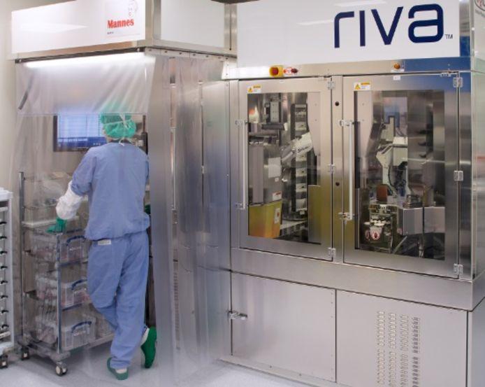 De medicijnrobot in het Prinses Máxima Centrum in Utrecht
