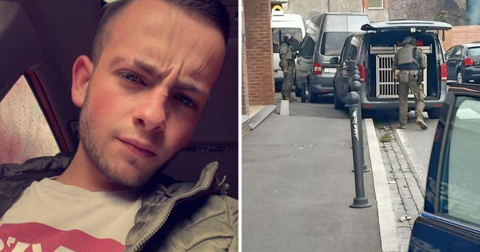 Une grosse intervention de police s'est déroulée à Lodelinsart (Charleroi) suite au meurtre de Valerio.