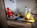 De kamer van Isabella Kruisselbrink in een ziekenhuis in Antwerpen. In Nederland is er geen plek voor haar vanwege de overvolle kinderafdelingen.