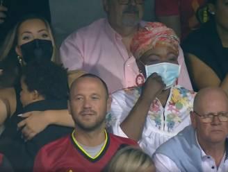 Zoontje van Lukaku aanwezig in stadion én op z'n scheenbeschermers tijdens 100ste wedstrijd voor Rode Duivels