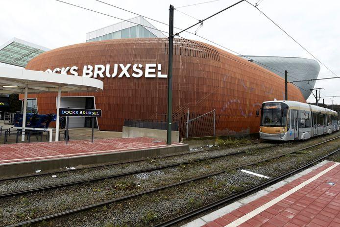 Le dramatique accident s'est produit devant le centre commercial Docks Bruxsel, dans le nord de la capitale.