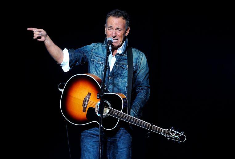 Bruce Springsteen: magie op je 71ste. Beeld Brad Barket/Invision/AP