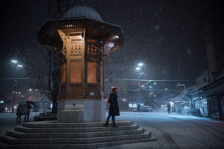In de Bosnische hoofdstad Sarajevo komen tegenwoordig tienduizenden toeristen.  Beeld Hollandse Hoogte / EyeEm Mobile GmbH
