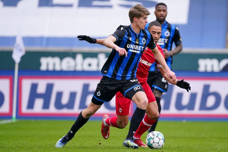 Charles De Ketelaere van Club Brugge. Beeld Photo News