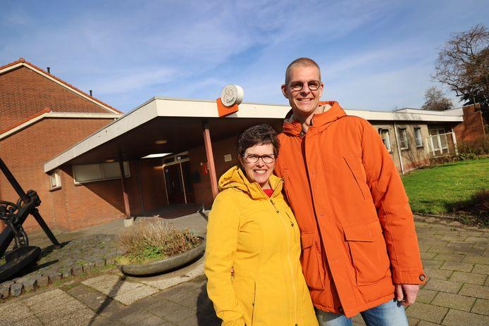 Serge en Annette van Uitert voor 't Anker in Rozenburg,