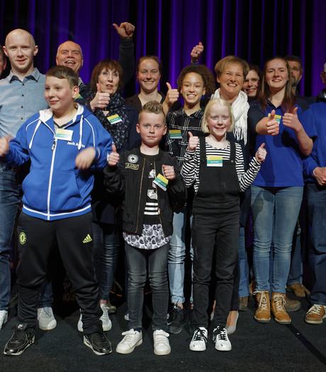 Schijndelse sportkampioenen gehuldigd in 't Spectrum