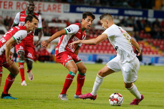 Premières minutes, première défaite pour Mirallas avec l'Antwerp.
