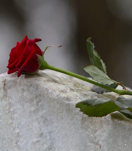 Mijn moeder wilde begraven wilde worden, omdat ze geboren is op het kerkhof in Bergen op Zoom