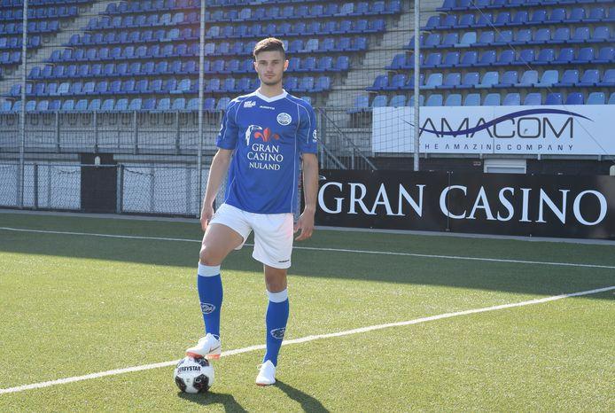 Stefan Velkov is de nieuwe centrale verdediger van FC Den Bosch.