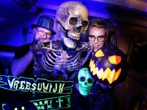 Grafstenen en doodskisten: Nieuwegein maakt zich massaal op voor griezelig Halloween-weekend