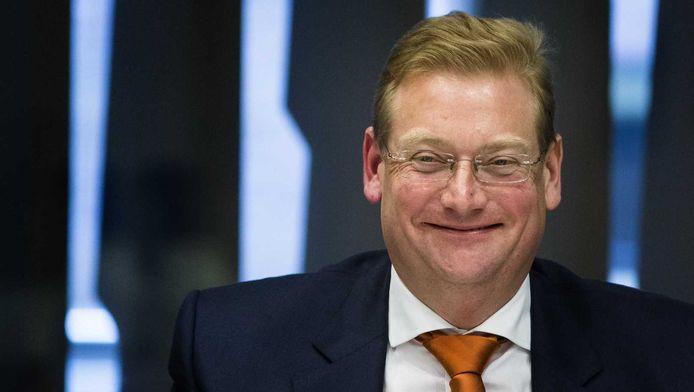 De nieuwe minister van Veiligheid en Justitie, Ard van der Steur.