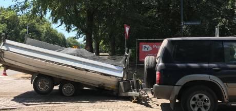 Rijkswaterstaat nuanceert 'onveilige' N65: 'Bestuurder auto met aanhanger negeerde oversteekverbod'