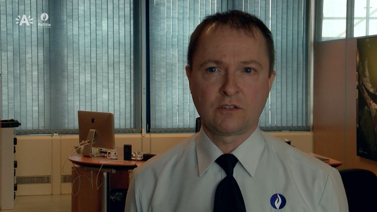 Serge Muyters, korpschef bij de politie Antwerpen. Beeld kos