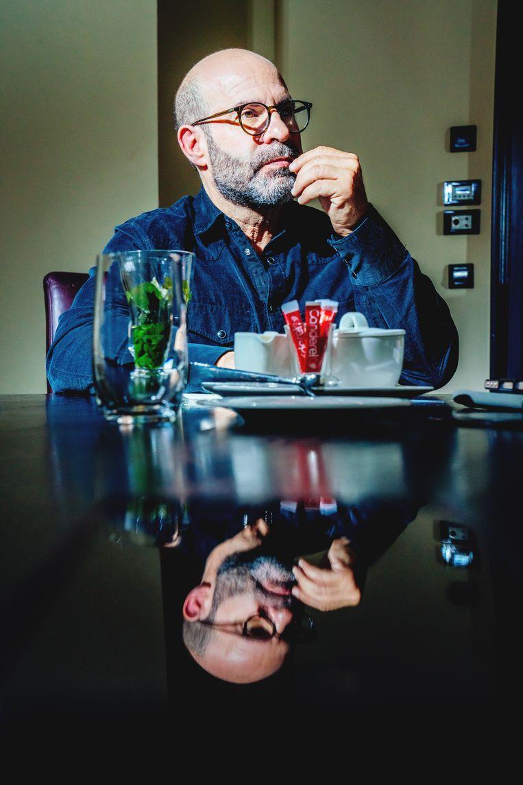 """Regisseur Scott Z. Burns: """"De 'enhanced interrogation techniques' hebben geen enkele inlichting opgeleverd die we met gewone ondervragingen niet konden verkrijgen."""" Beeld Stefaan Temmerman"""