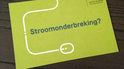 Stroompanne treft Zandstraat op zondagavond