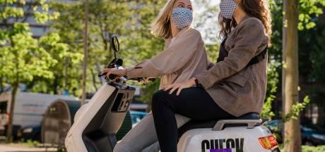 Aantal deelscooters in Breda wordt verdubbeld, van 200 naar straks 400