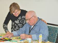 Dementerende ouderen leven op door kunst