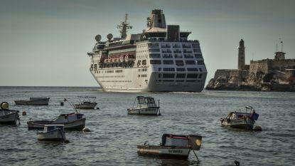 Cubanen zwaaien laatste Amerikaanse cruiseschip dat land aandoet uit