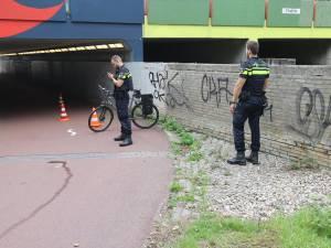 Fietser zwaargewond door botsing bij Dommeltunneltje in Eindhoven