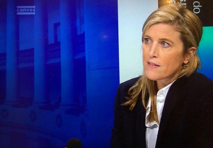 Minister van Binnenlandse Zaken Annelies Verlinden (CD&V) in 'De Afspraak op Vrijdag'.