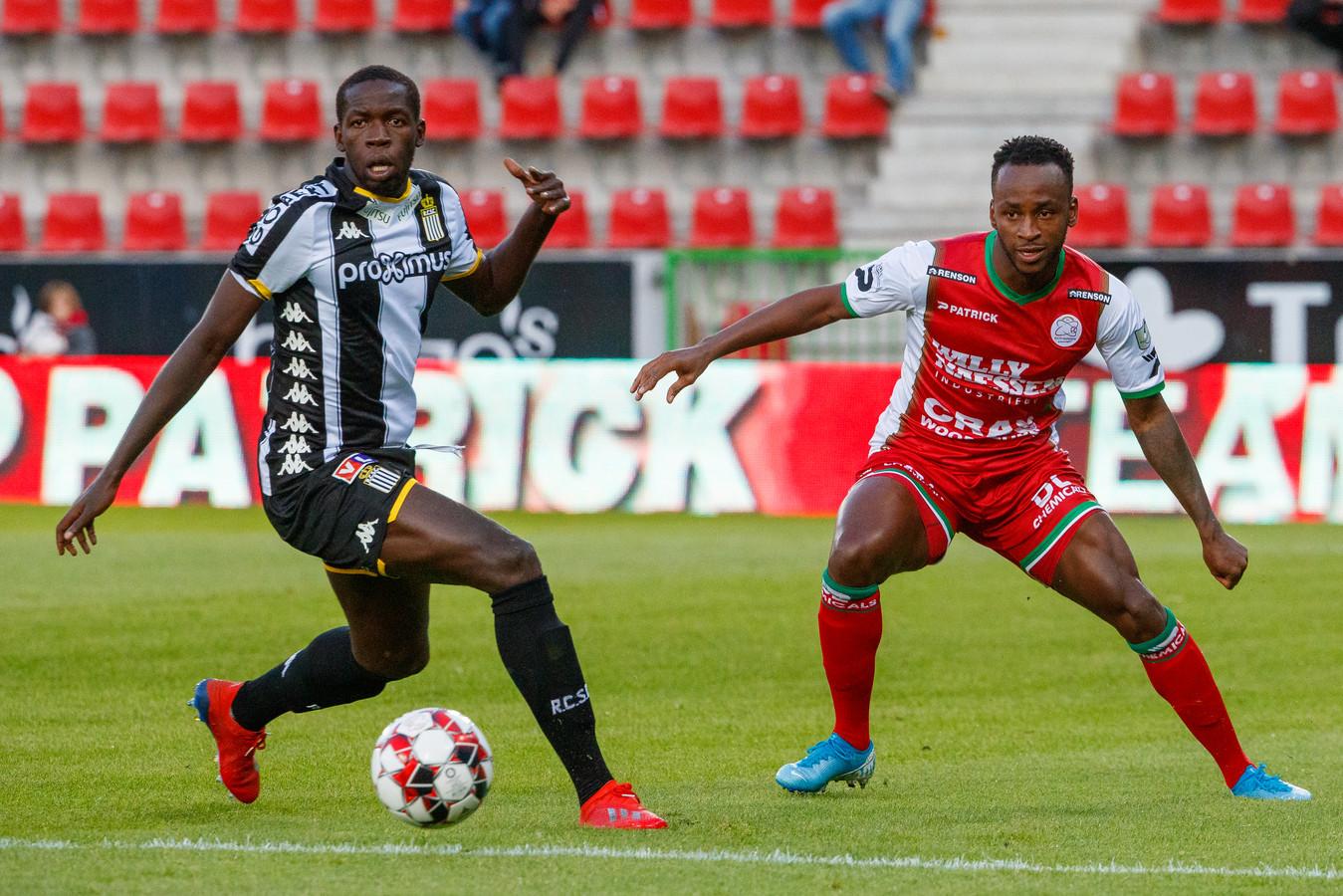 En fin de contrat avec Charleroi, Christophe Diandy signe à Mouscron.