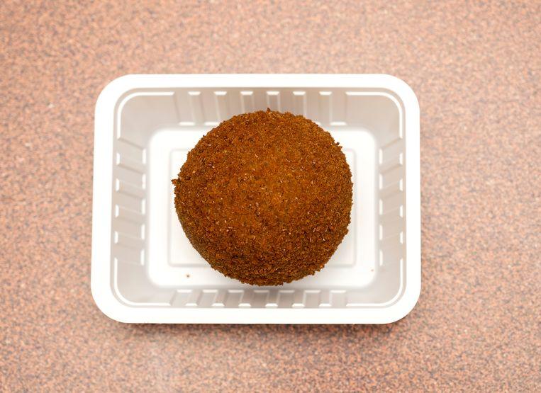 De Groningse eierbal. Beeld Els Zweerink