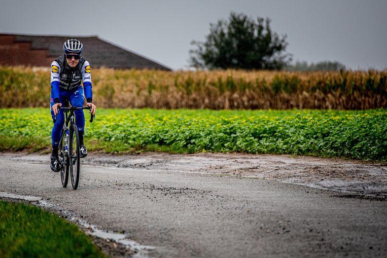 Remco Evenepoel mikt in 2021 op de Giro en/of de Vuelta. Voor hem komen de Spelen niet in het gedrang. Beeld Deceuninck - Quick-Step - Wout Beel