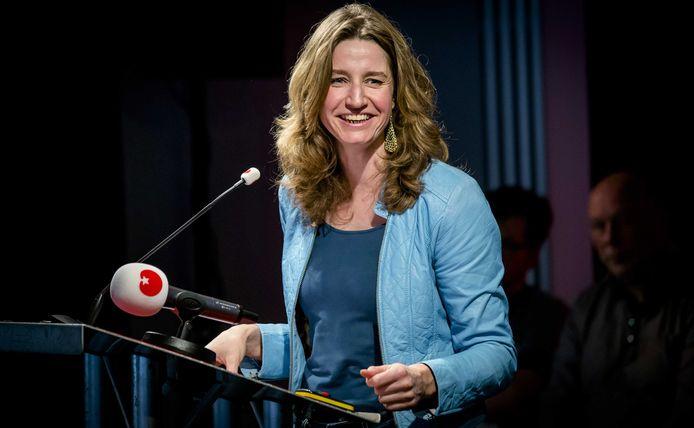 Sharon Gesthuizen, hier nog in haar tijd bij de SP, is de nieuwe directeur van de Academie voor Art & Design van kunstacademie ArtEZ in Arnhem.